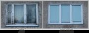 Окна пвх и Алюминиевые рамы!Три дня!