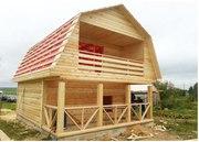 Продам недорого сруб Дома-Бани 6х7, 5 м с установкой в Старобине