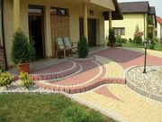 Мощение-Укладка тротуарной плитки от 50 м2 в Солигорском районе.