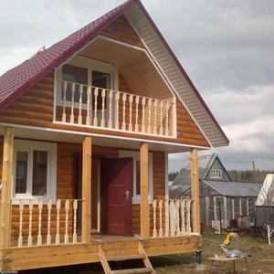 Строительство каркасных Домов в Солигорске и районе