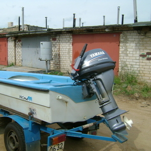 Продаётся моторная лодка