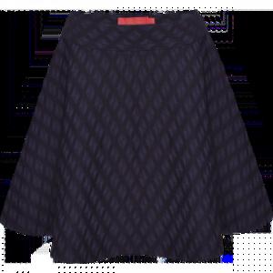 Жаккардовая юбка для девочки,  цвет ночной синий
