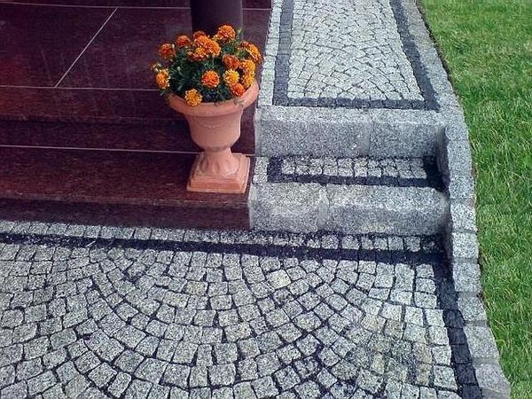 Укладка тротуарной плитки в Солигорске от 50м2 2