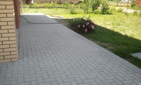 Укладка тротуарной плитки в Солигорске от 50м2 7