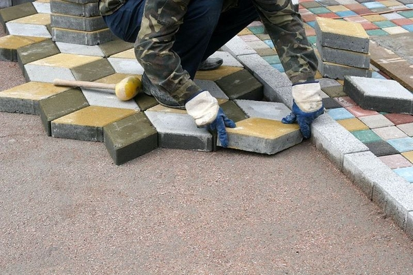 Укладка тротуарной плитки в Солигорске от 50м2 9