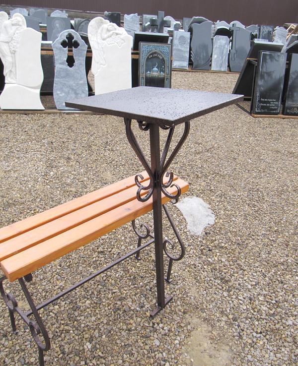 Изготовление и установка столика  лавочки на могулу Солигорск 2