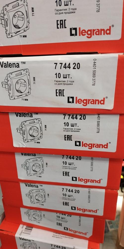Legrand Valena Classic (Розетки-выключптели) 2